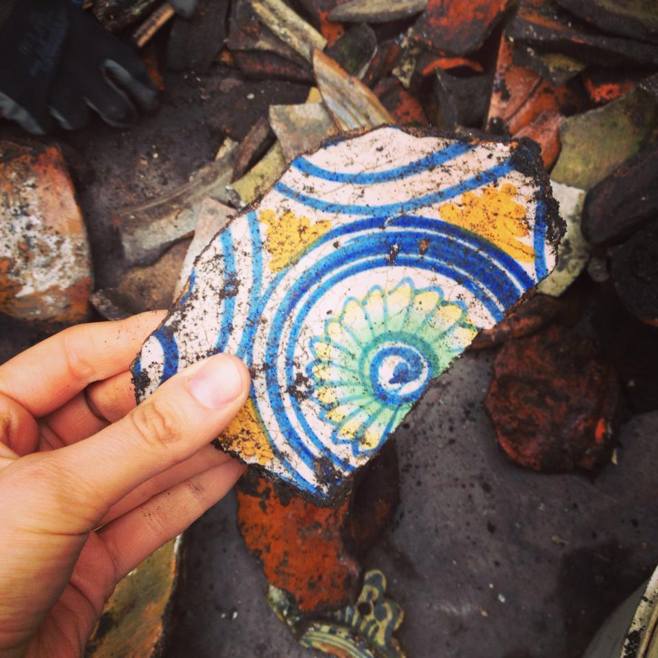 Ditch ceramic