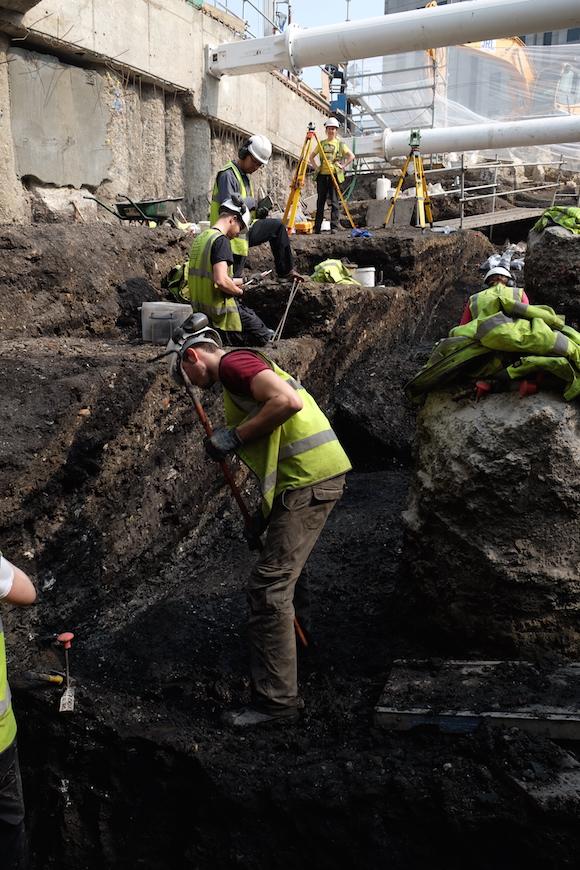Excavation of City Ditch